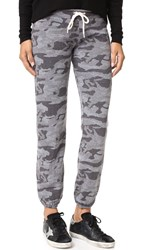 Monrow Camo Vintage Sweatpants Granite
