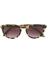 Oliver Goldsmith 'Carnaby' Sunglasses Brown