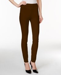 Styleandco. Style Co. Tummy Control Stretch Leggings Only At Macy's Rich Truffle