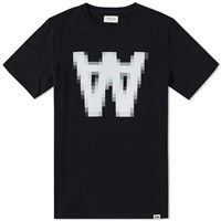 Wood Wood Aa Pix Tee Black