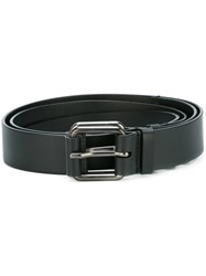 A.F.Vandevorst Triple Buckle Belt Black
