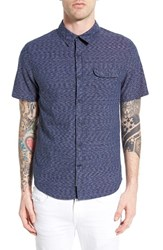 Men's Native Youth Trim Fit Short Sleeve Woven Shirt