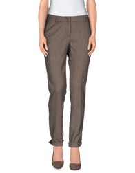 Cappellini Trousers Casual Trousers Women Khaki