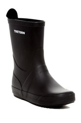 Tretorn Wings Waterproof Rubber Boot Black