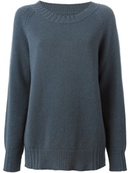 Kristensen Du Nord Crew Neck Sweater Grey