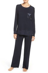 Midnight By Carole Hochman Women's Knit Pajamas Midnight