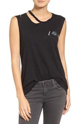 Pam And Gela Women's Distressed Tee