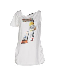 Guess By Marciano Topwear T Shirts Women White