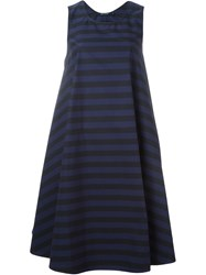 Sofie D'hoore Striped Sleeveless Dress Pink And Purple