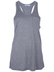 T By Alexander Wang Classic Tank Grey