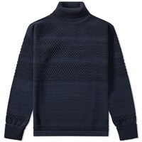 S.N.S. Herning Fisherman Roll Neck Blue