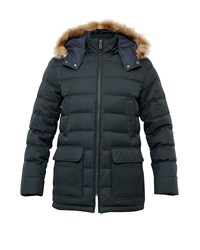 Ted Baker Norway Down Filled Parka Green