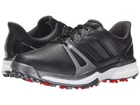 Adidas Adipower Boost 2 Core Black Dark Silver Metallic Red Men's Golf Shoes