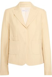 See By Chloe Buttercup Wool Blend Blazer White