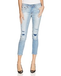 Jean Shop Patty Destructed Cropped Skinny Jeans In 10 Year