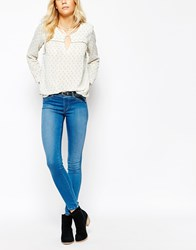 Pepe Jeans Sutre Stocking Super Skinny Jean Blue