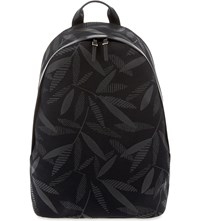 Paul Smith Travely Cotton Backpack Black