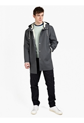 Men's Charcoal Stockholm Raincoat
