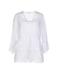 Clips More Shirts Blouses Women White