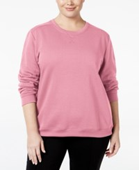 Karen Scott Plus Size Fleece Sweatshirt Only At Macy's Mellow Rose