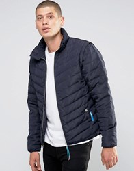 Ellesse Italia Padded Jacket Navy