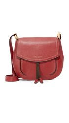 Marc Jacobs Maverick Saddle Bag Russet Brown Red