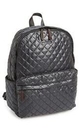 M Z Wallace Mz Wallace 'Metro' Quilted Oxford Nylon Backpack Black