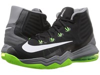 Nike Air Max Audacity Ii Black Cool Grey Electric Green White Men's Basketball Shoes