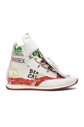 Vivienne Westwood 3 Tongue Meaningless Trainer Ivory