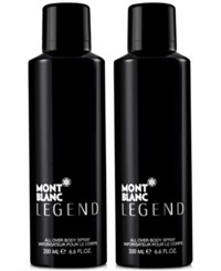 Montblanc Legend Dual Body Spray 6.6 Oz Only At Macy's No Color