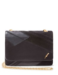 Brian Atwood Meryl Crossbody Shoulder Bag Black Multi