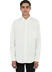 Ami Alexandre Mattiussi Summer Fit Oxford Shirt White