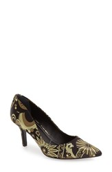 Charles By Charles David Women's 'Sasha' Pointy Toe Pump Black Multi Fabric