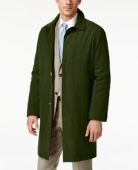 London Fog Coat Durham Raincoat Bright Green