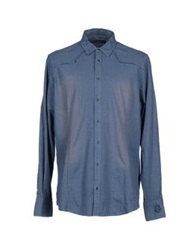 Liu Jeans Shirts Dark Blue
