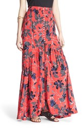 Women's Free People 'Smooth Sailing' Maxi Skirt