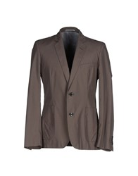 Gold Case By Rocco Fraioli Suits And Jackets Blazers Men Grey