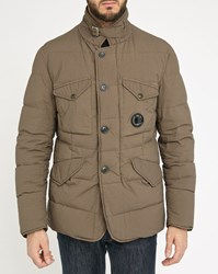 C.P. Company Taupe Quilted Jacket