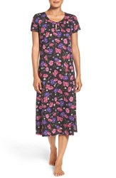 Lauren Ralph Lauren Women's Floral Cotton Ballet Nightgown