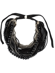 Goti Chain And Bead Necklace