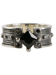 Stefano Tartini Spinel Ring Metallic