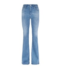 Ag Jeans Janis High Rise Flare Jeans Female Blue