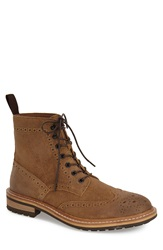 1901 'Aberdeen' Wingtip Boot Men Tan