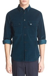 Men's Umit Benan Trim Fit Corduroy Shirt