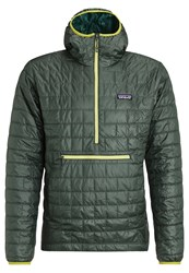 Patagonia Nano Puff Bivy Winter Jacket Carbon Evergreen