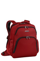 Men's Briggs And Riley 'Transcend' Backpack Red Crimson Red
