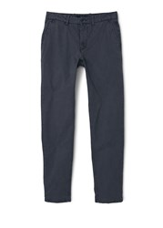 Mango Berlin5 Straight Fit Bomull Chinos Charcoal