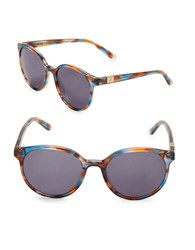 Brian Atwood 52Mm Round Sunglasses Multi Colored