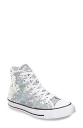 Converse Women's Chuck Taylor All Star 'Holiday Party' Sequin High Top Sneaker