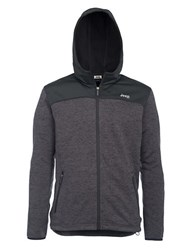 Jeep Tricot Hooded Fleece Jacket Grey